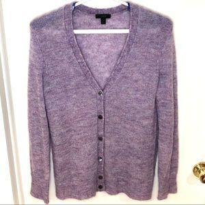 J. Crew Mohair Boyfriend Cardigan Sweater